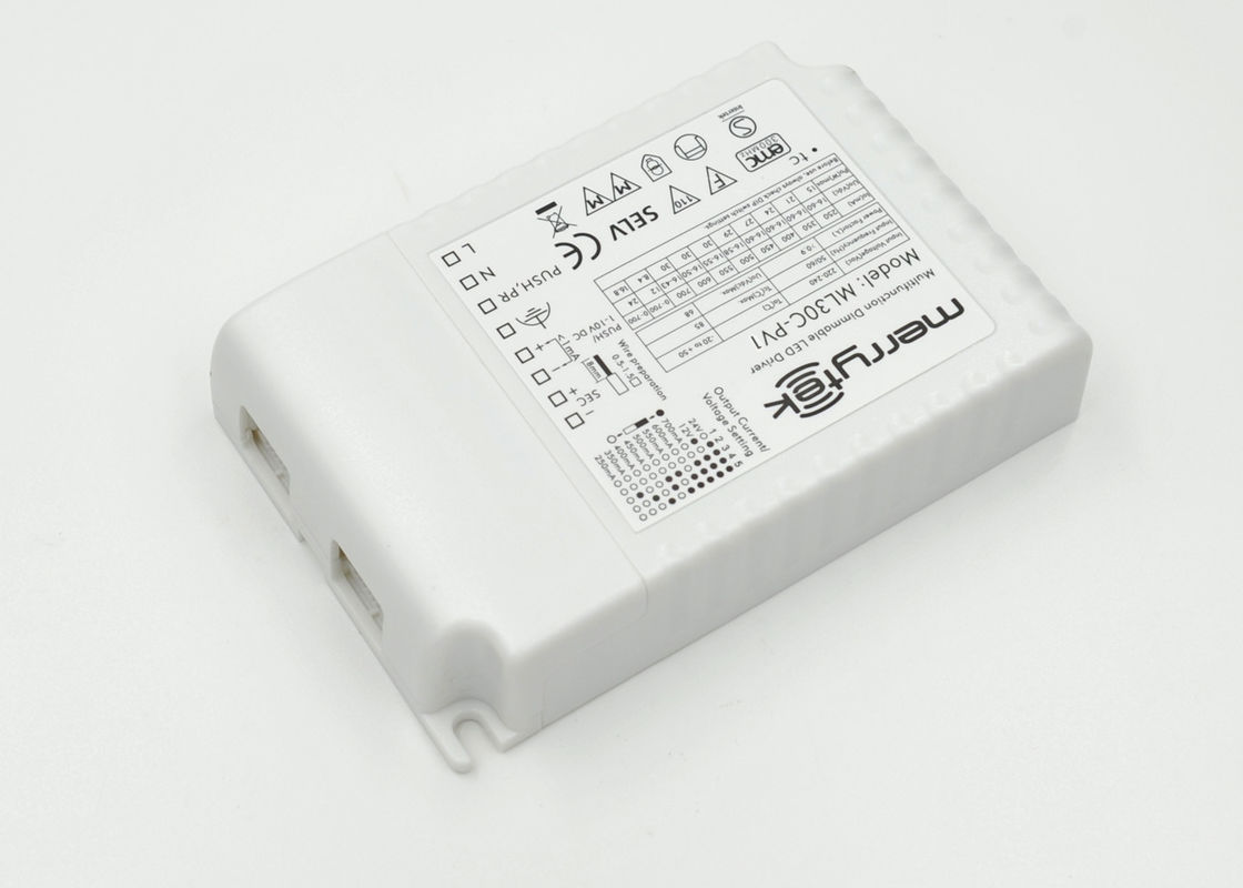 Multi - Output Current / Voltage 0-10v Dimming LED Driver SEMKO Approved