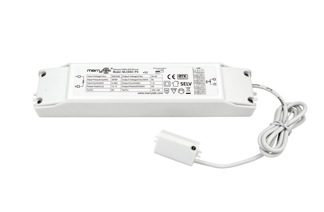 Energy Saving Sensor Driver 65W Max Output Power For LED Linear Light